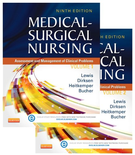 Medical-Surgical Nursing - 2-Volume Set Assessment and Management of Clinical Problems 9th 2014 9780323100892 Front Cover