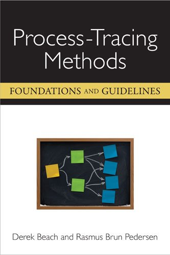 Process-Tracing Methods Foundations and Guidelines  2013 edition cover