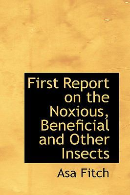 First Report on the Noxious, Beneficial and Other Insects:   2008 edition cover