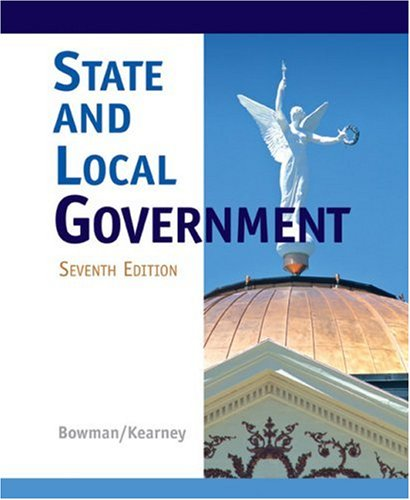 State and Local Government  7th 2008 edition cover