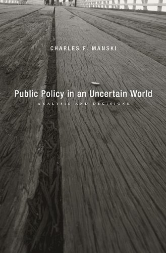 Public Policy in an Uncertain World Analysis and Decisions  2013 edition cover