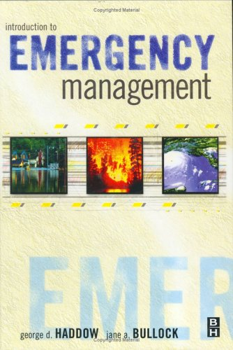 Introduction to Emergency Management   2003 9780750676892 Front Cover