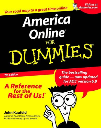 America Online for Dummies  7th 2001 9780764507892 Front Cover