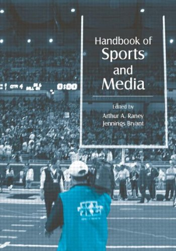 Handbook of Sports and Media   2006 9780805851892 Front Cover