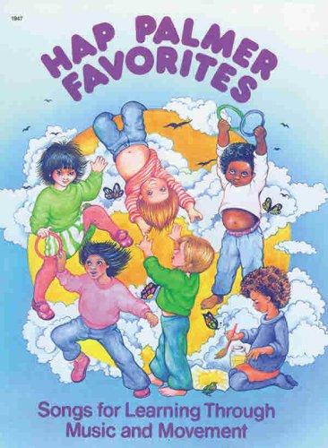 Hap Palmer Favorites   1981 edition cover