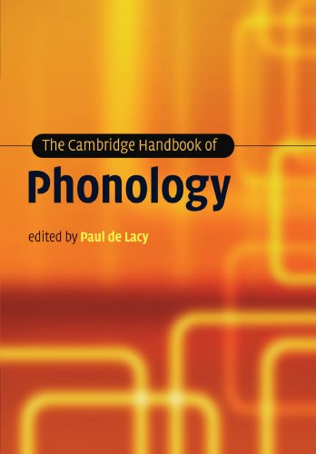 Cambridge Handbook of Phonology   2012 9781107404892 Front Cover