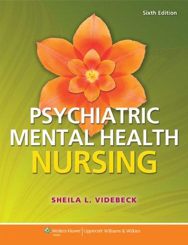 Psychiatric-Mental Health Nursing:   2013 9781451187892 Front Cover