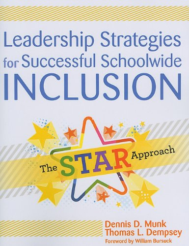 Leadership Strategies for Successful Schoolwide Inclusion The STAR Approach  2010 edition cover
