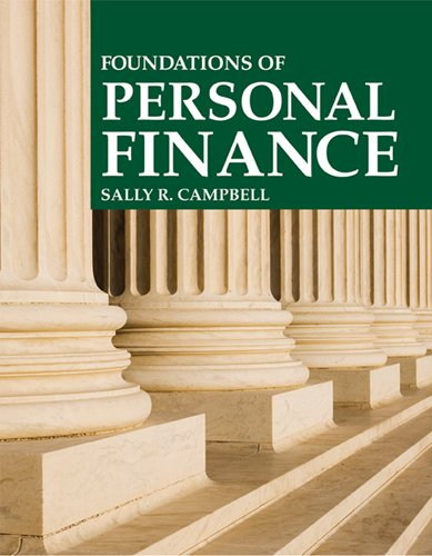 Foundations of Personal Finance  8th 2010 edition cover