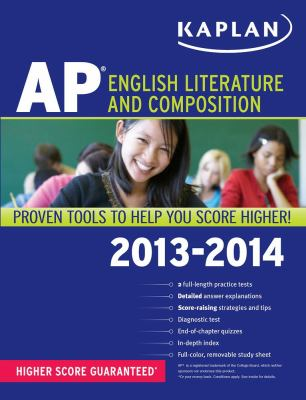 Kaplan AP English Literature and Composition 2013-2014  N/A edition cover