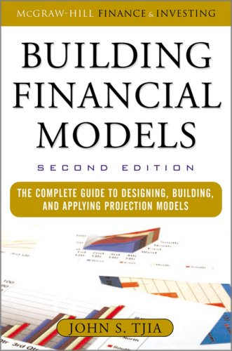 Building Financial Models  2nd 2009 edition cover