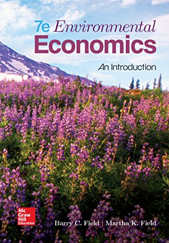 Environmental Economics:   2016 9780078021893 Front Cover