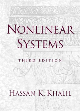Nonlinear Systems  3rd 2002 edition cover