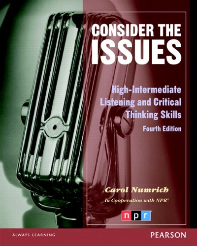 Consider the Issues  4th 2013 edition cover