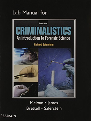 Criminalistics: An Introduction to Forensic Science  2014 edition cover
