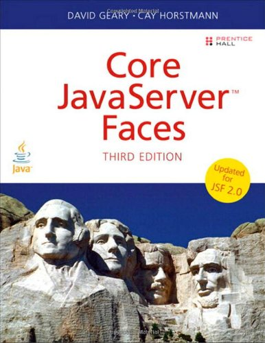 Core JavaServer Faces  3rd 2010 edition cover