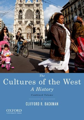 Cultures of the West A History  2013 edition cover