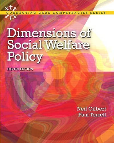 Dimensions of Social Welfare Policy  8th 2013 edition cover