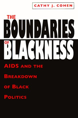 Boundaries of Blackness AIDS and the Breakdown of Black Politics N/A edition cover