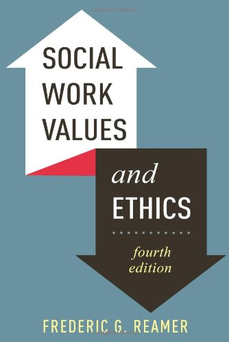 Social Work Values and Ethics  4th 2013 edition cover