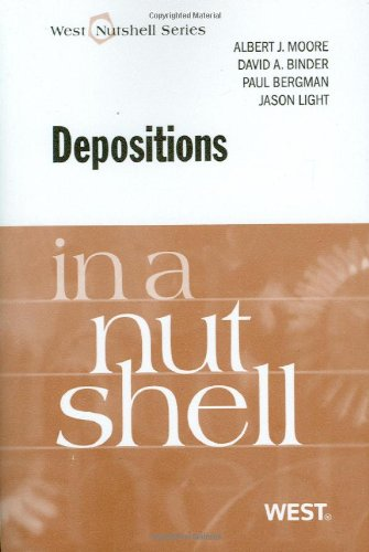 Depositions   2011 edition cover