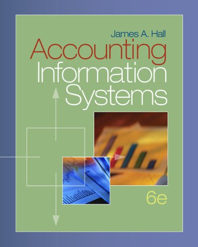 Accounting Information Systems  6th 2008 9780324560893 Front Cover