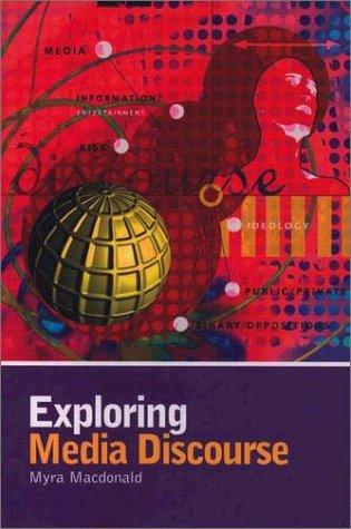 Exploring Media Discourse   2003 edition cover