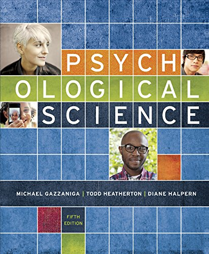 Psychological Science 5th edition cover