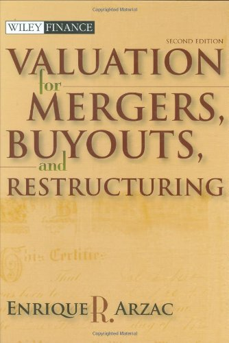Valuation Mergers, Buyouts and Restructuring 2nd 2008 edition cover