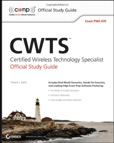 CWTS Certified Wireless Technology Specalist  2009 (Guide (Pupil's)) 9780470438893 Front Cover