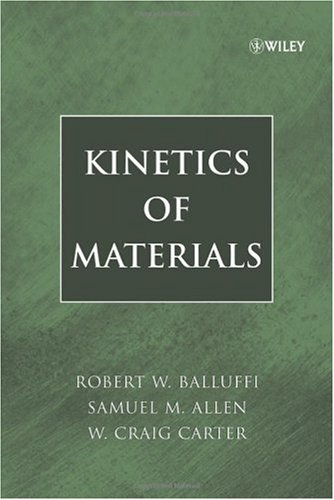 Kinetics of Materials   2005 edition cover