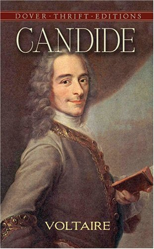 Candide  Reprint  9780486266893 Front Cover