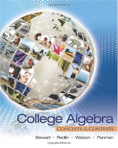 College Algebra Concepts and Contexts  2011 edition cover