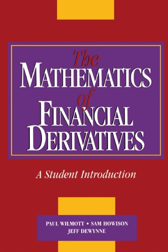 Mathematics of Financial Derivatives A Student Introduction  1995 edition cover
