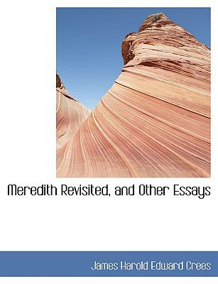 Meredith Revisited, and Other Essays:   2008 edition cover