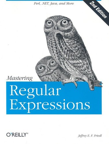 Mastering Regular Expressions  2nd 2002 edition cover