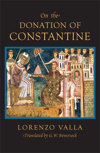 De falso credita et ementita Constantini donatione Declamatio   2008 edition cover