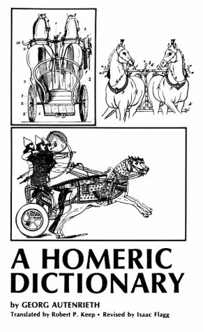 Homeric Dictionary for Schools and Colleges  Reprint edition cover
