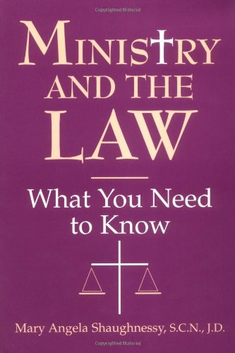 Ministry and the Law What You Need to Know N/A edition cover