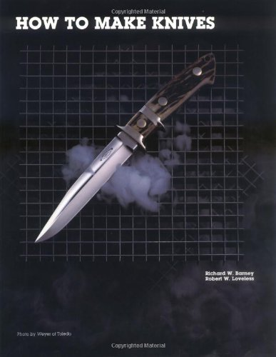 How to Make Knives  2nd 1994 edition cover