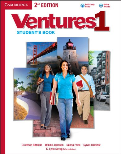 Ventures Level 1  2nd 2013 edition cover