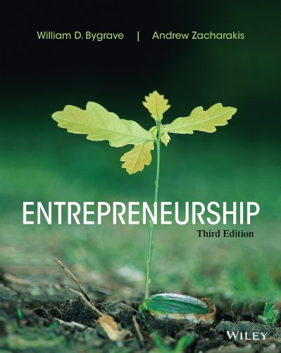 Entrepreneurship  3rd 2014 edition cover