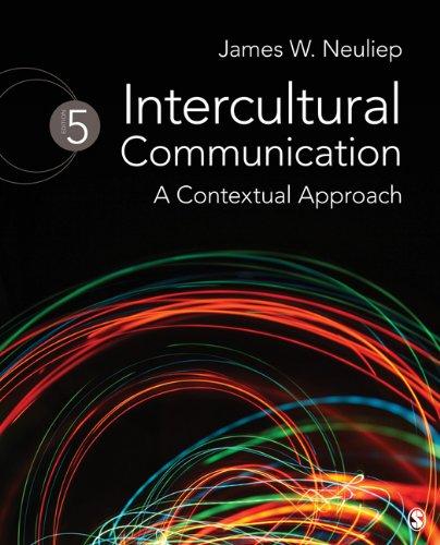 Intercultural Communication A Contextual Approach 5th 2012 edition cover