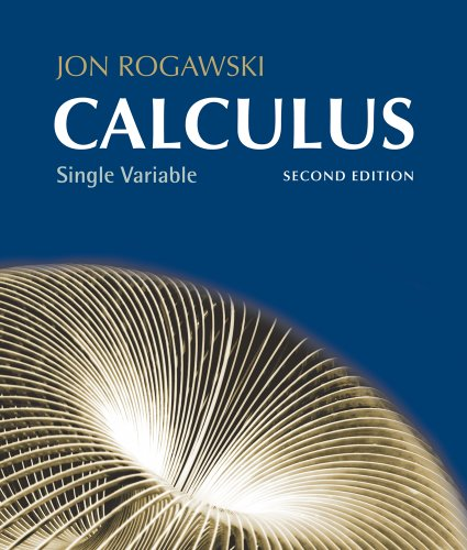 Single Variable Calculus - Chapters 1-12  2nd 2012 edition cover