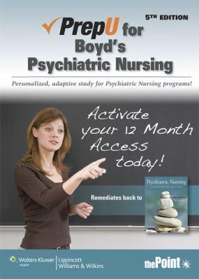 PrepU for Psychiatric Nursing Contemporary Practice 5th edition cover