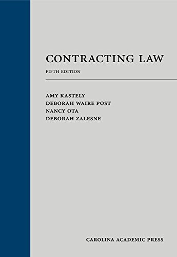 Contracting Law  5th 2011 9781594609893 Front Cover