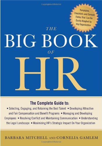 Big Book of HR   2012 edition cover