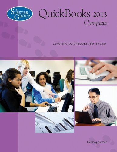 QuickBooks Complete - Version 2013  N/A edition cover