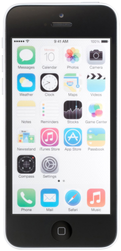 Apple iPhone 5c - 16GB - White (AT&T) product image