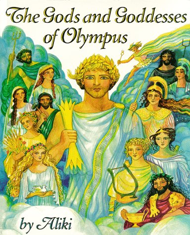 Gods and Goddesses of Olympus   1997 edition cover